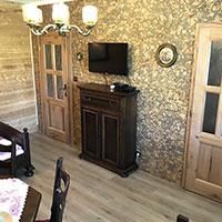 Apartmá Kvilda - ubytování v srdci Šumavy - obývací pokoj
