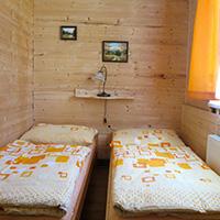 Apartmá Kvilda - ubytování v srdci Šumavy - obývací ložnice