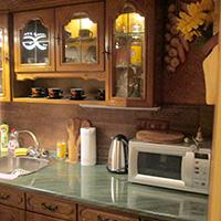 Apartmá Kvilda - ubytování v srdci Šumavy - kuchyň